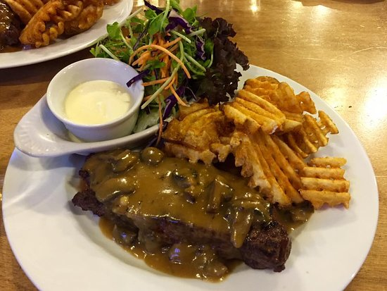 Rustlers Steakhouse and Grill: the beef steak
