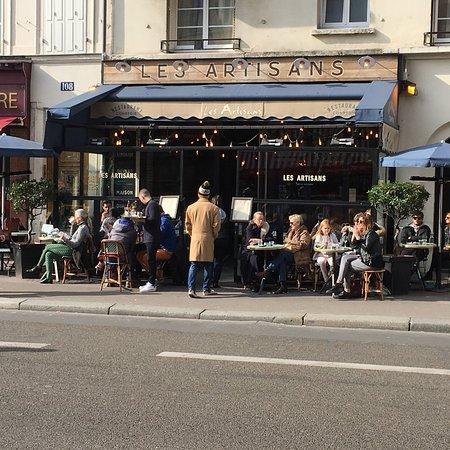 les artisans rue lecourbe paris restaurant avis. Black Bedroom Furniture Sets. Home Design Ideas