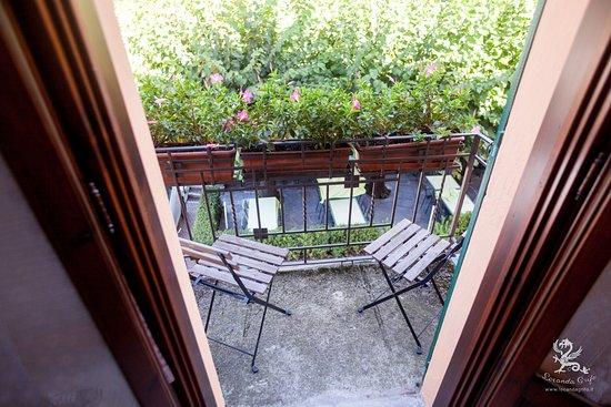 Il Grifo: balcone