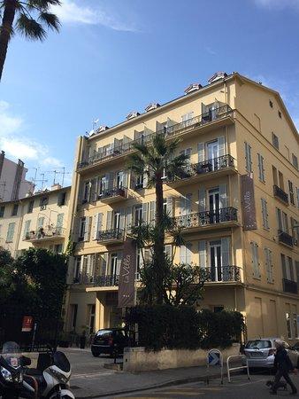 Hotel La Villa Nice Promenade: Fasade
