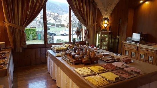 Llanars, Espagne : desayuno