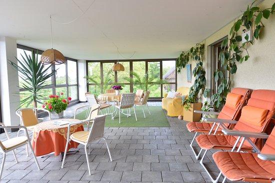 Wintergarten Picture Of Haus St Michael Dozwil Tripadvisor