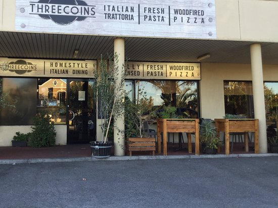 Restaurant outlook - Picture of Three Coins, Mount Lawley