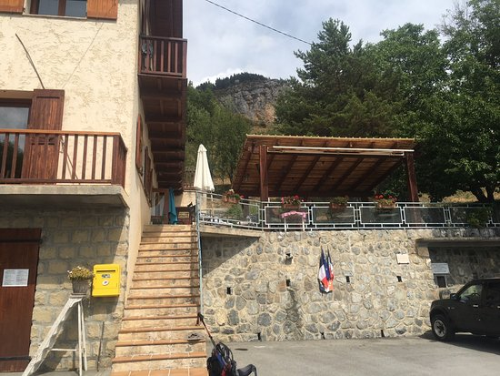 Guillaumes, Frankrig: Entrée menant à la terrasse