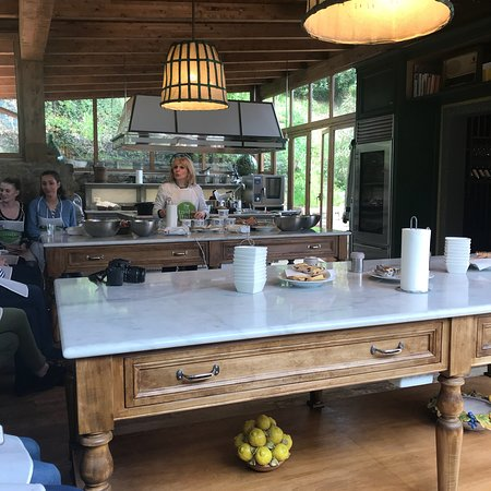 Cooking Class and Lunch at a Tuscan Farmhouse with Local Market Tour from Florence Photo