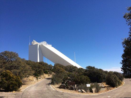 Sells, AZ: Solar telescope