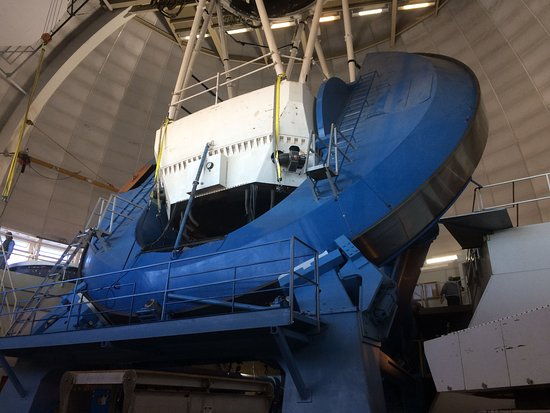 Sells, AZ: Inside the 4-Meter Mayall Telescope