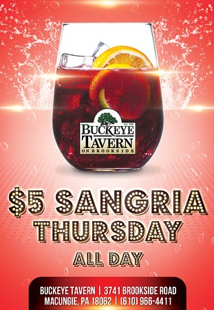 Macungie, Pensilvania: Sangria Thursday
