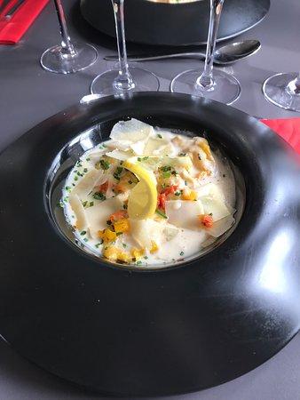 L'Annexe Restaurant: Ravioles de gambas au parmesan