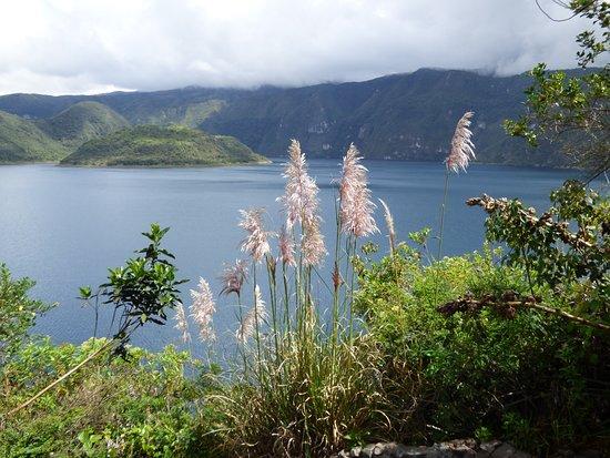 Laguna Cuicocha, Ecuador: Lake view