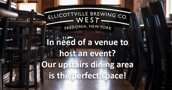 Fredonia, NY: Looking for space for your next event? Think EBC West!