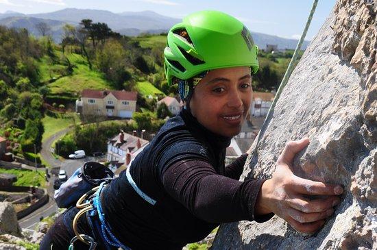 Llandudno, UK: Some of the best rock climbing in Britain.