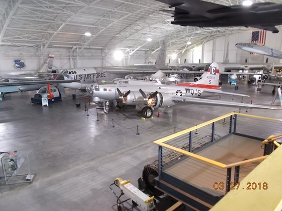 Strategic Air Command & Aerospace Museum: View from upper floor