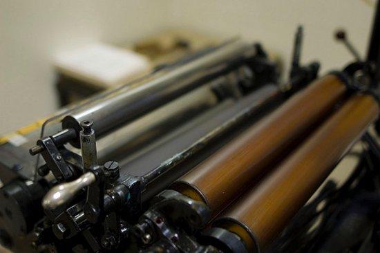 Pieve di Cento, Italie: Gruppo rulli inchiostrazione Heidelberg Platina