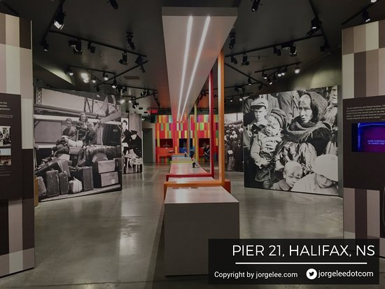 Canadian Museum of Immigration at Pier 21: Immersive experience