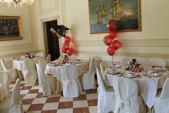 Vigonovo, Italia: sala per il pranzo di laurea