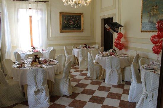 Vigonovo, Italia: sala per il pranzo di laurea 2