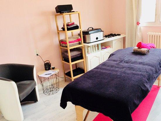 Mezangers, Francia: Salle de massage