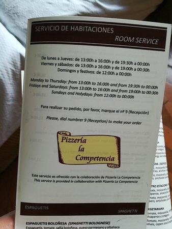 Hotel Temple Ponferrada: SERVICIO HABITACIONES