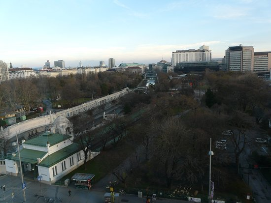 InterContinental Wien: View from hotel