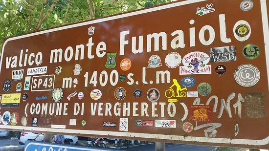Sorgente del Tevere: Valico Monte Fumaiolo