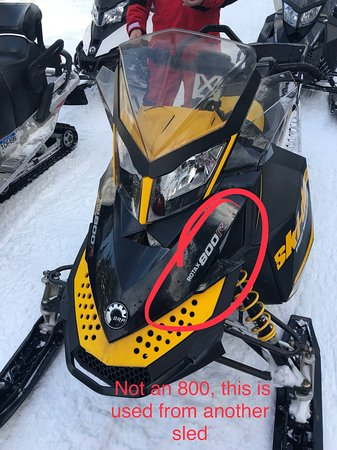 Foto de Rocky Mountain Riders Snowmobile Tours and Rentals