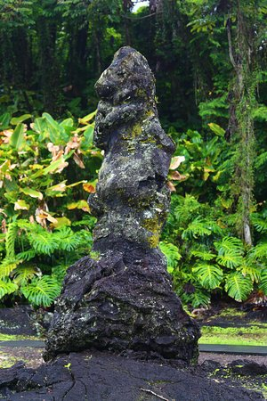 Pahoa, Havaí: Lava tree