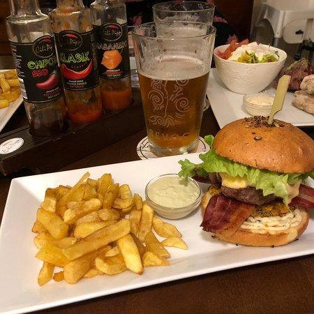 Gornja Radgona, Slovenia: Einfach nur köstlich die Burger