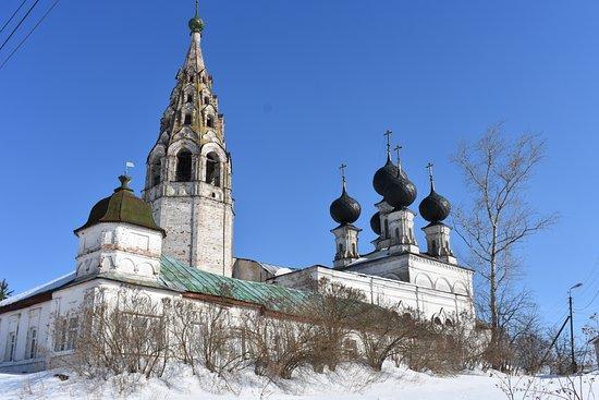 Susanino, Russland: Церковь Воскресения Христова (Сусанино)