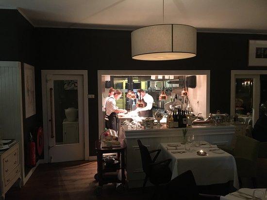 Mahlow, Allemagne : De open keuken (met veel berdijvigheid)