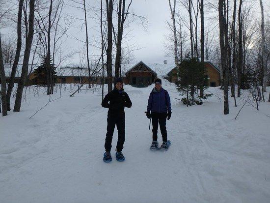 North Star Adventures: Flagstaff Lake Hut , Maine Huts & Trails