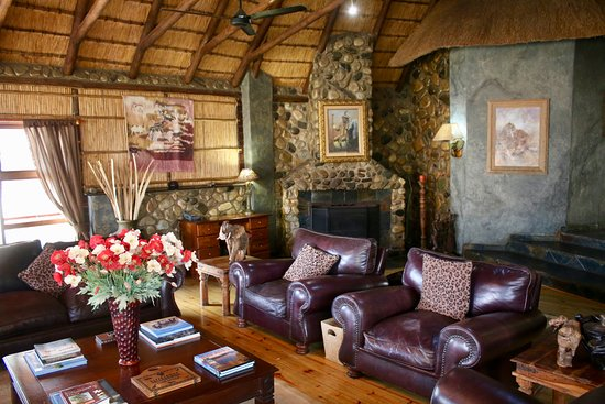 Mkuze Game Reserve, South Africa: die Lounge