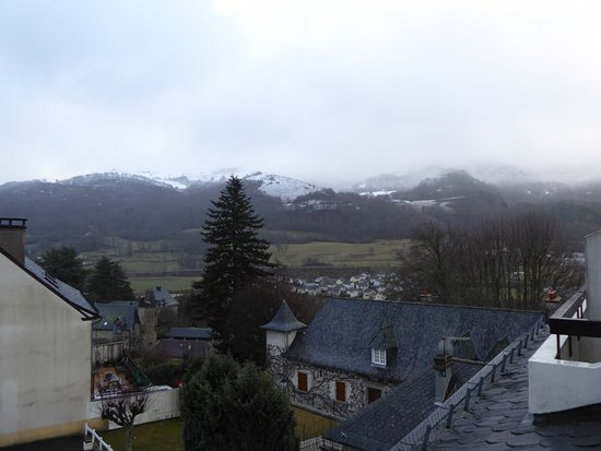 Thiezac, ฝรั่งเศส: vue de la chambre