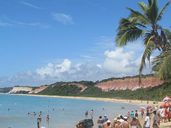 Mucuge Beach : Acceso a la playa.