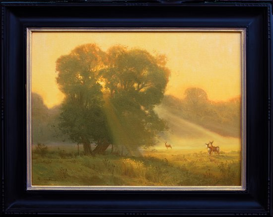 Wimberley, TX: A painting by one of our gallery artists.