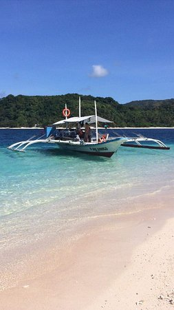 Linapacan, Filipiny: Boat for hire