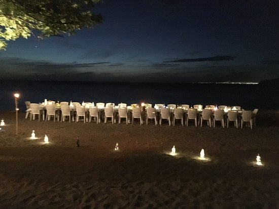 Montpelier Plantation & Beach: Wedding Dinner on the Beach