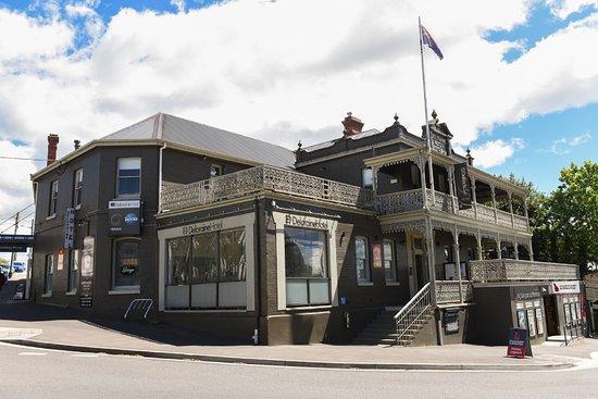 Deloraine, Australia: Our beautiful old 1848 Hotel