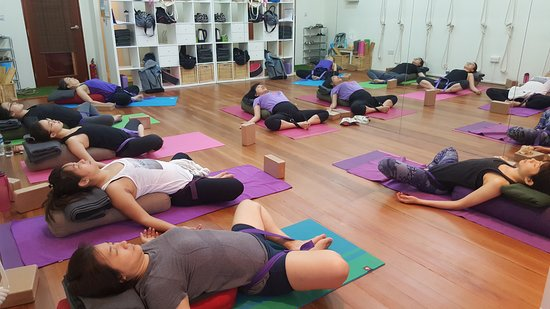 Restorative Yoga Picture Of Academy Of Yoga Singapore Tripadvisor