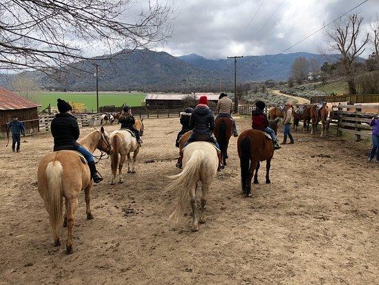 Caliente, Kalifornia: Happy Trails