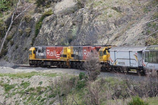 Greymouth, Νέα Ζηλανδία: TranzAlpine Express