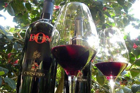 ヴェスヴィオのワインツアーLacryma Christi