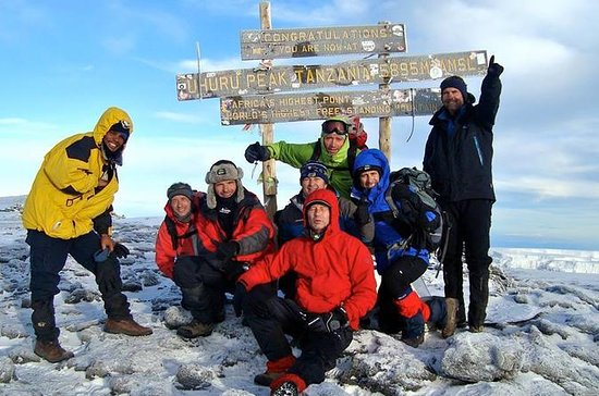 8 Days Mt Kilimanjaro Climbing via...