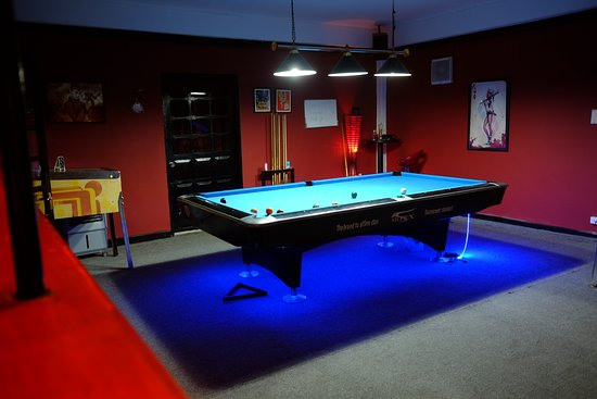 Premium Pool Table With Private Or Public Seating Picture Of - Pool table seating