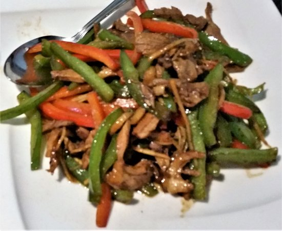 Guilderland, NY: Shredded Duck w/ Ginger.