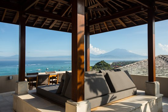 gazebo at the three bedroom villa picture of the tamarind resort rh tripadvisor ie Nusa Lembongan Bali the tamarind resort nusa lembongan kabupaten klungkung bali