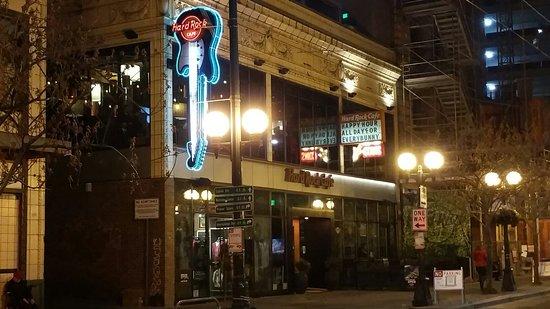 Seattle Hard Rock Cafe Location