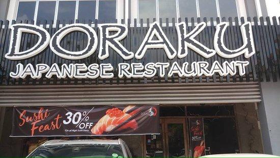Doraku Japanese Restaurant Sunway