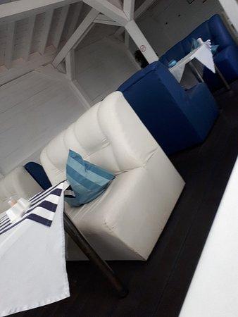 Снимок White & Blue Cafe Sochi