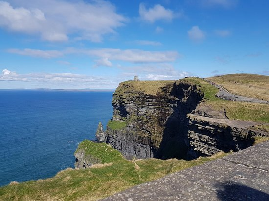 Cliffs of Moher, Wild Atlantic Way, Kilmacduagh Abbey and Galway from Dublin Photo